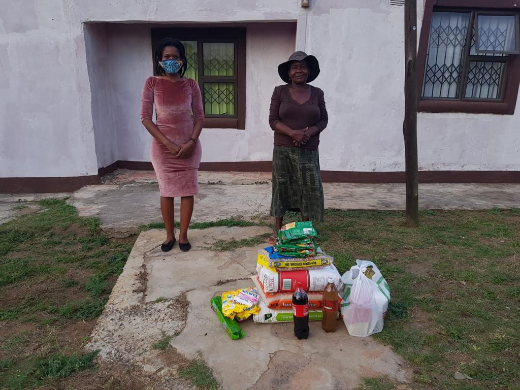 Food delivery drops with Izulu Orphan Projects