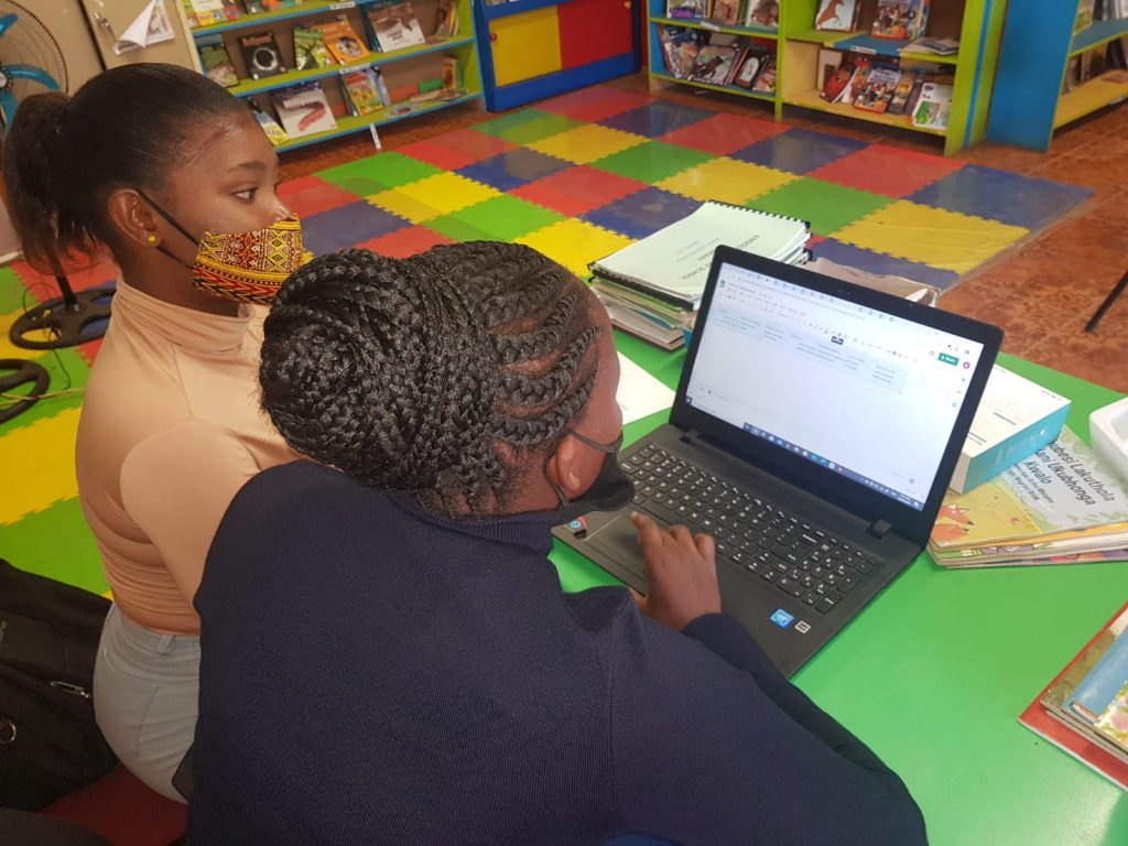 YES! Youth assisting with Covid Screening at primary schools