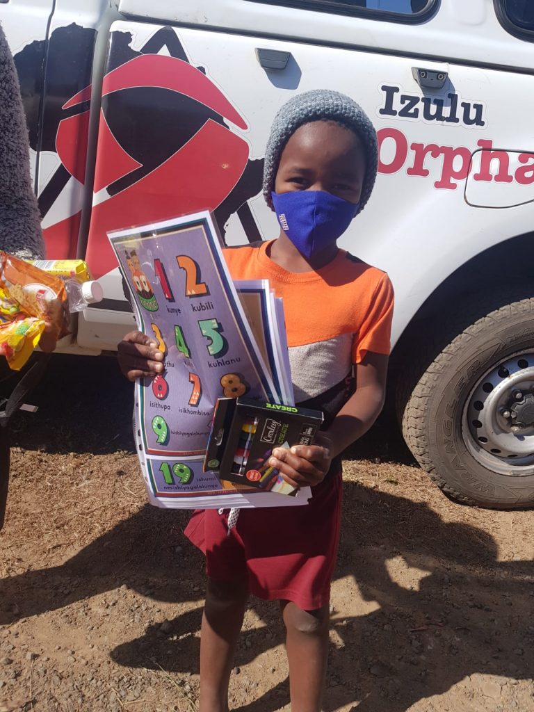 ECD packs for 32 childen with Izulu Orphan Projects