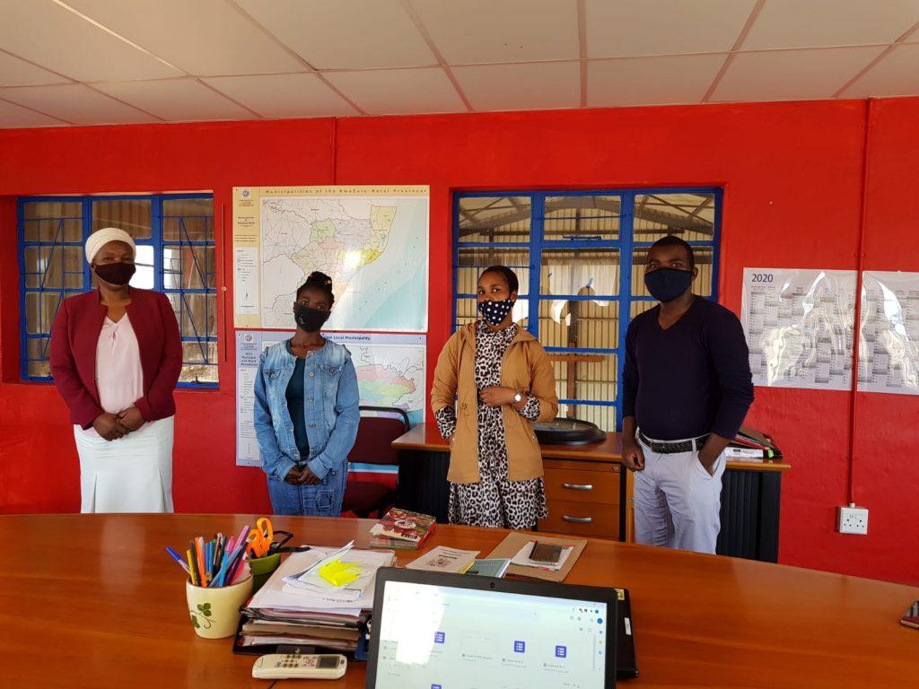 Covid Screening Training with Lethimfundo Primary